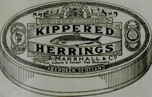 Kippered Herring 1895