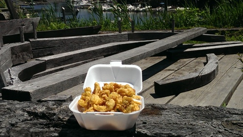 Fried Clams from The Village