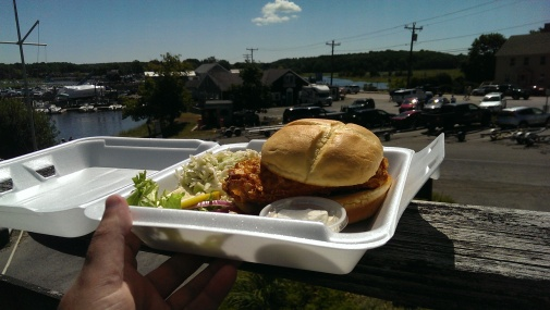Haddock sandwich, Essex Ma