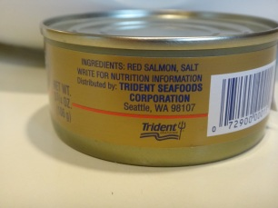 canned salmon ingredients