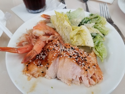 Salmon and Shrimp at Disney