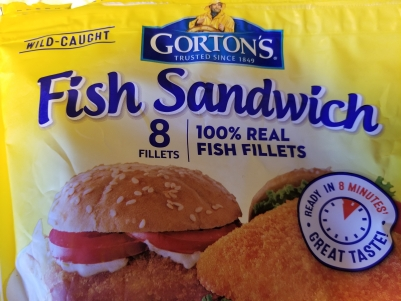 Gorton's Fish Sandwich