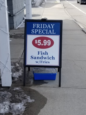 Woodman's lunch special