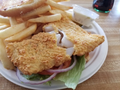 Woodman's fried cod