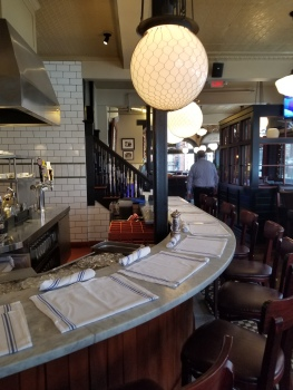 Turner's seafood lyceum hall interior