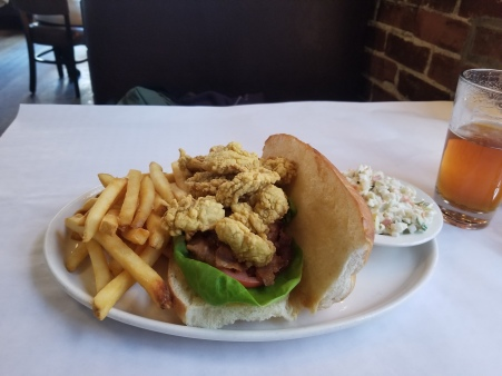 Fried Oyster Po Boy