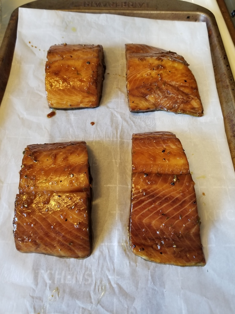 marinated sablefish