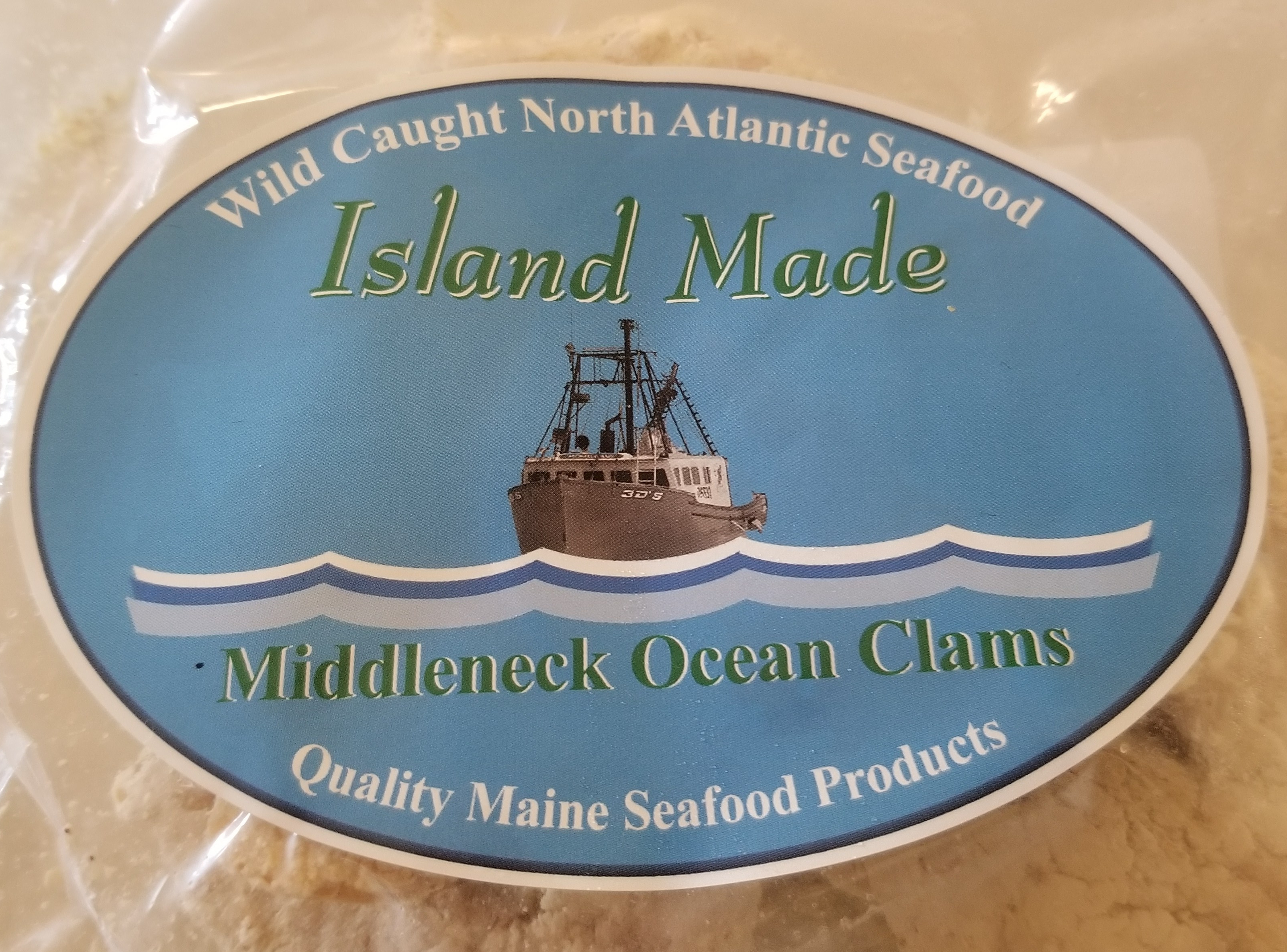 Island Made Clams