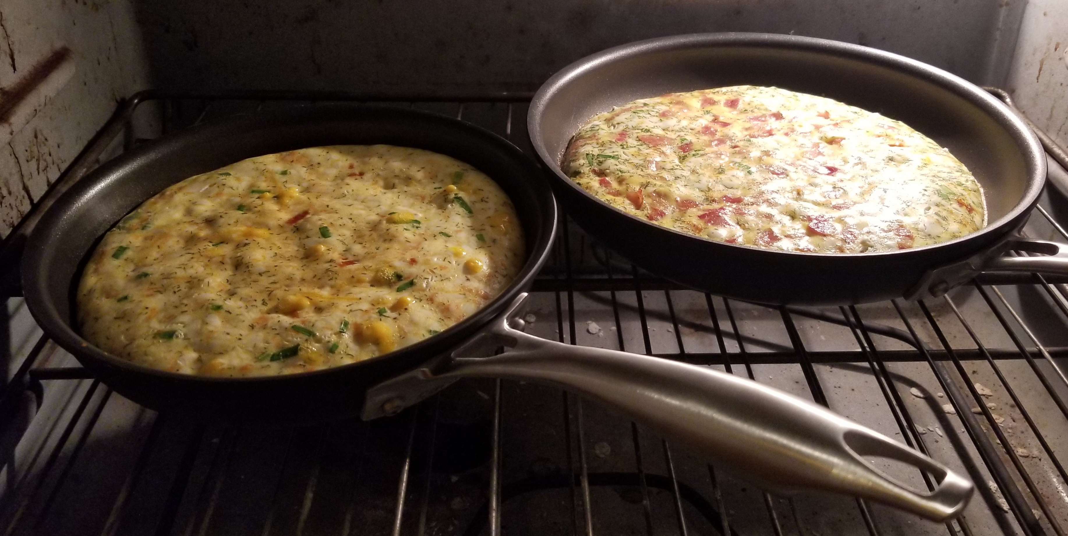 omelettes in oven