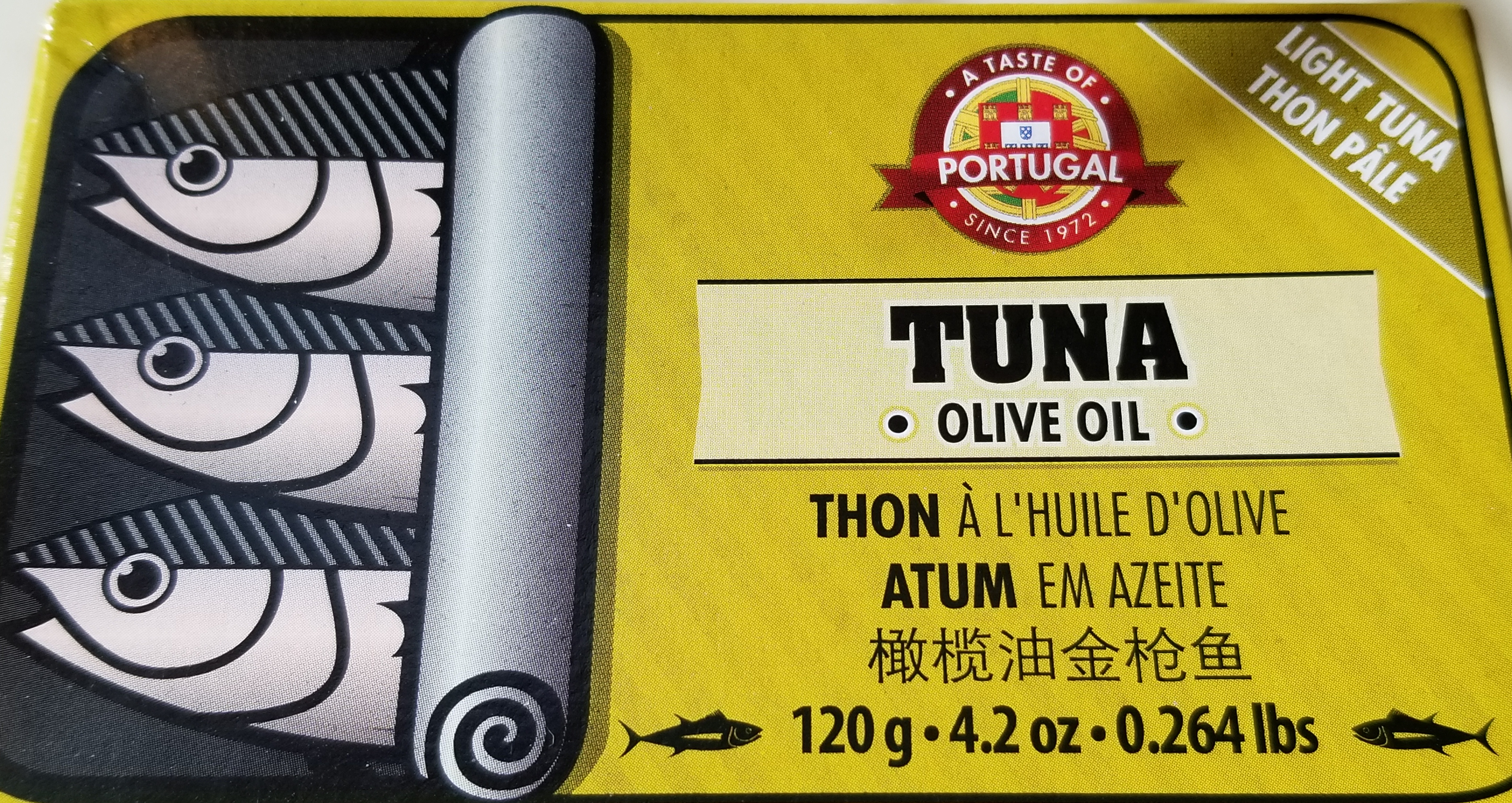 Taste of Portugal brand tuna