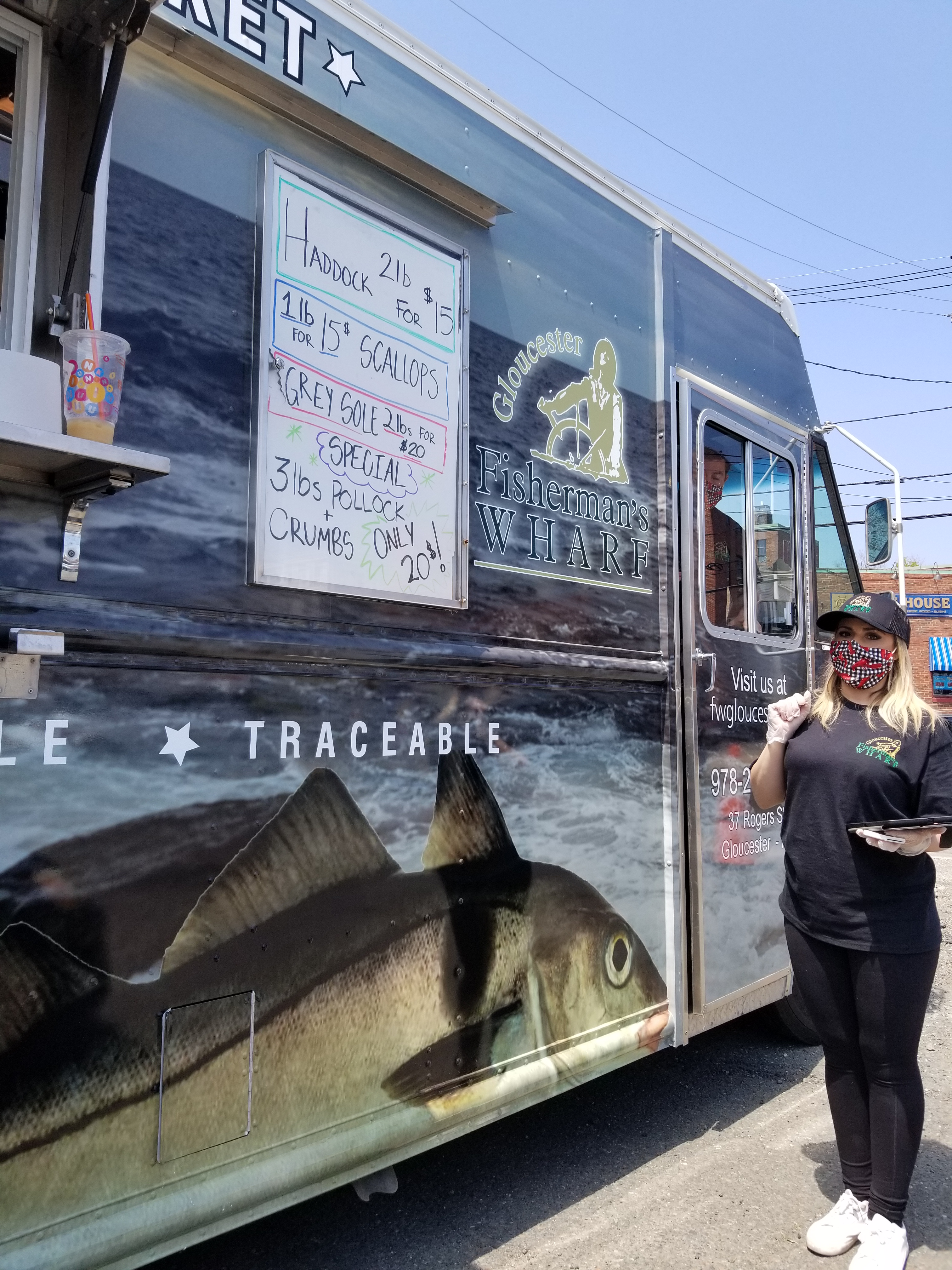 Fishermans wharf seafood truck