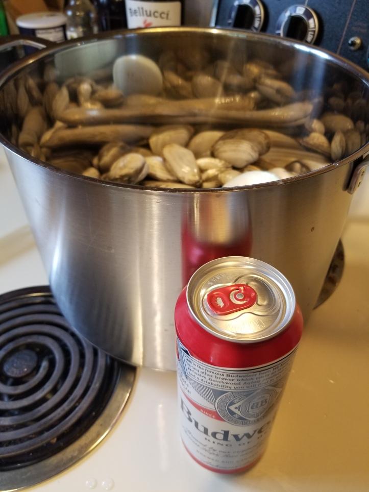 steamers in beer