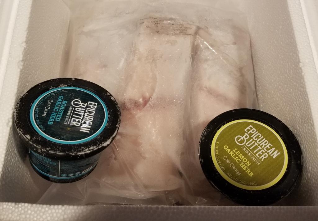 QVC Epicurean butter and barramundi