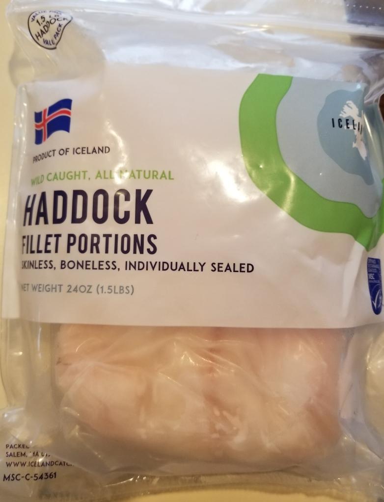 iceland catch frozen haddock